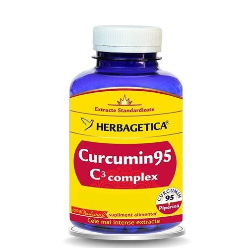 Curcumin95 C3 Complex, 60 capsule  - HERBAGETICA