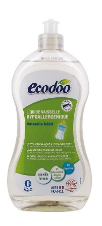 Detergent hipoalergenic biberoane si vesela bebelusi, 500ml - Ecodoo