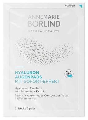 Comprese pentru ochi cu acid hialuronic, efect imediat, pachet 6x2 - Annemarie Borlind