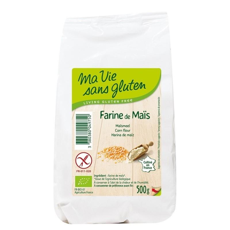 Faina de porumb bio, fara gluten, 500g - Ma vie sans gluten