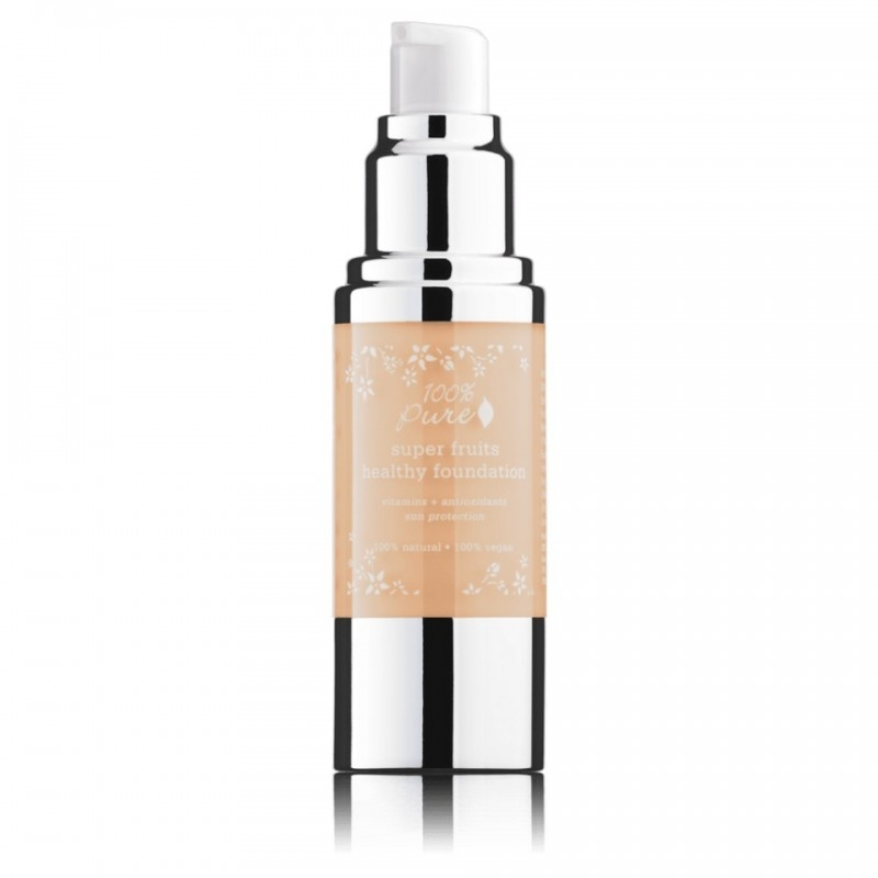 Fond de ten acoperire totala si protectie solara, Sand - 100 Percent Pure Cosmetics
