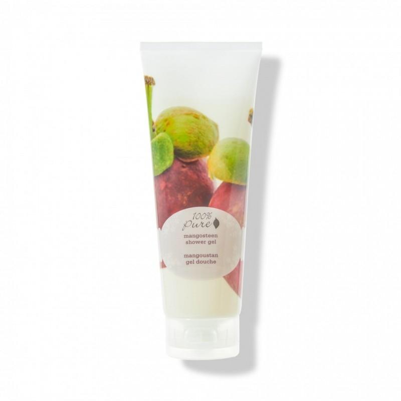 Gel de dus cu aroma de mangustan, tub 236 ml - 100 Percent Pure Cosmetics
