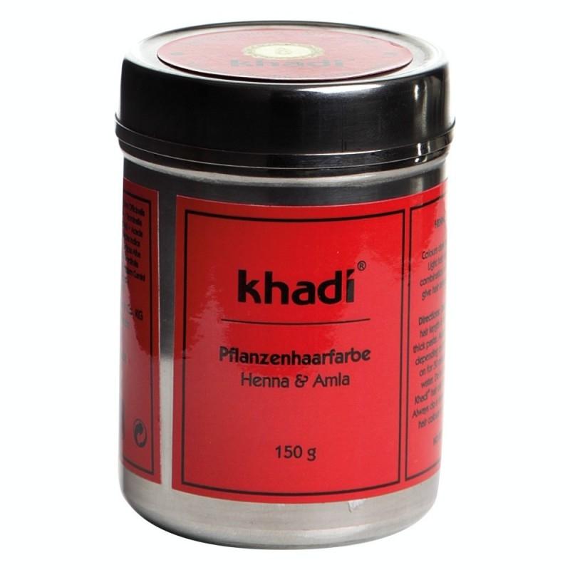 Vopsea de par naturala Henna & Amla - Khadi