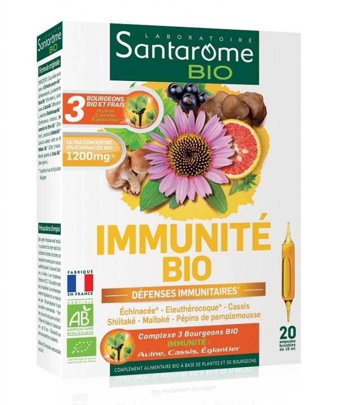 Immunite Bio supliment natural, 20 fiole - SANTAROME
