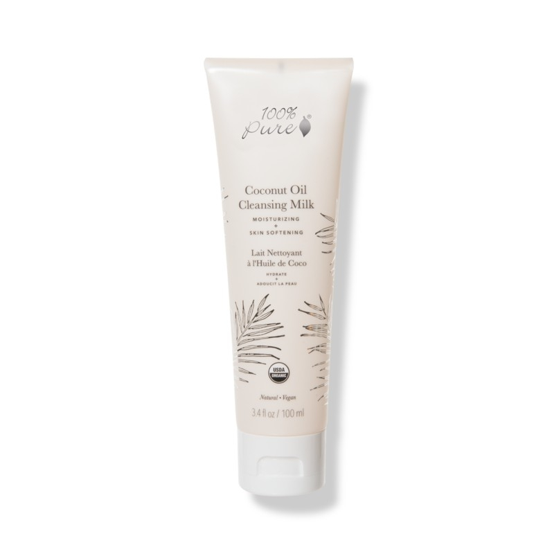 Lapte demachiant hidratant cu ulei de cocos - 100 Percent Pure Cosmetics
