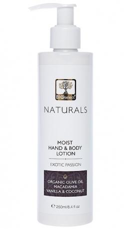 Lotiune hidratanta parfumata pentru maini si corp Exotic Passion, 250ml - BIOselect Naturals