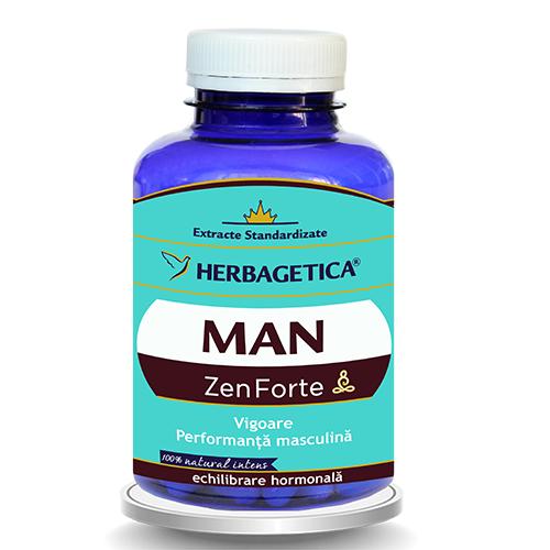 Man Zen Forte, 60 capsule - HERBAGETICA