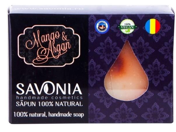 Sapun natural handmade Mango si Argan - Savonia