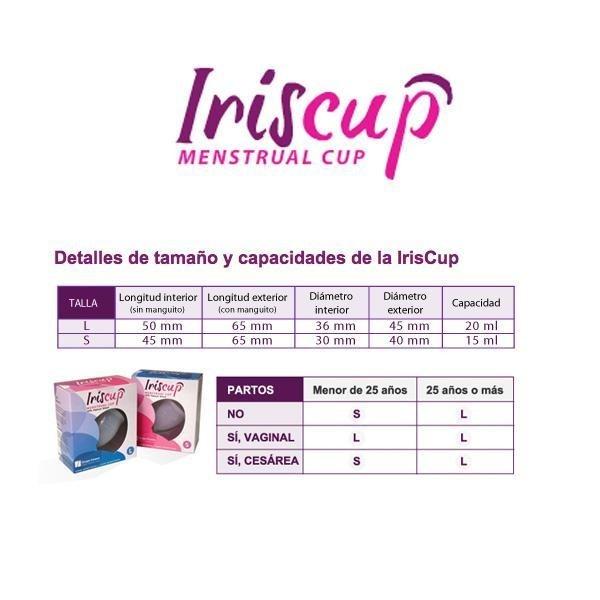 Cupa Menstruala (Marimea S) Roz - Iriscup