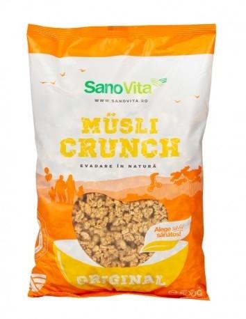 Musli crunch Original, 500g - SanoVita