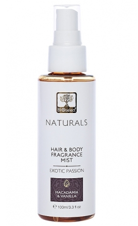 Parfum pentru par si corp Exotic Passion, 100ml - BIOselect Naturals