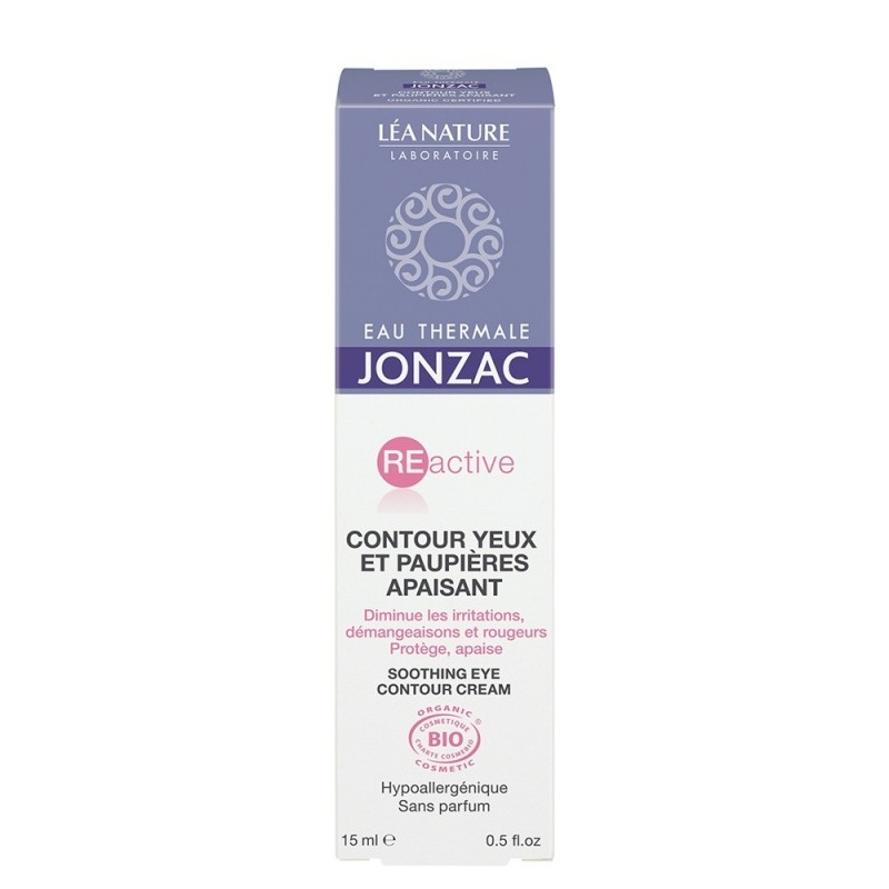 Crema contur ochi calmanta, hipoalergenica, REactive 15ml  -  JONZAC