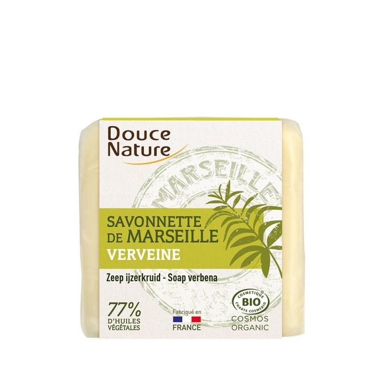 Sapun bio de Marsilia cu verbina, 100g - DOUCE NATURE