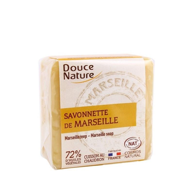 Sapun de Marsilia alb, 100g - DOUCE NATURE