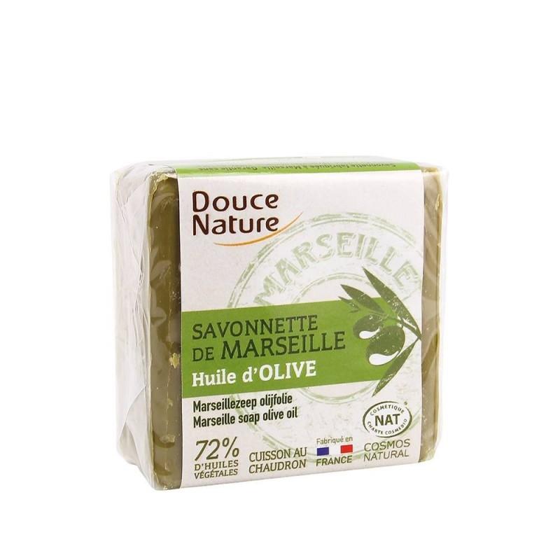 Sapun de Marsilia verde, 100g - DOUCE NATURE