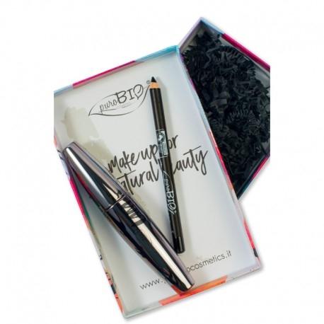 Set Cadou Intense Eye Look (rimel & creion) - PuroBio