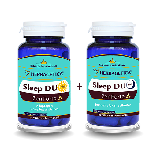 Sleep Duo AM/PM, 120 + 120 capsule - HERBAGETICA