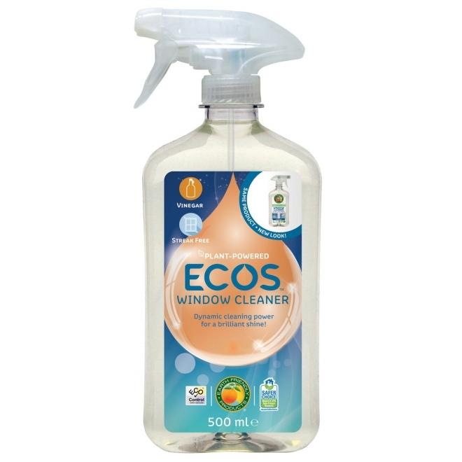 Solutie ecologica pentru spalat geamurile, 500 ml - ECOS