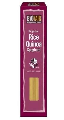 Spaghetti bio din orez si quinoa, fara gluten, 250g - Biofair