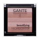 Iluminator pentru ten Beautifying Highlighter 01 Nude - SANTE NATURKOSMETIK