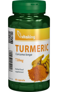 Curcuma (Turmeric) 720mg, 60 cps - Vitaking