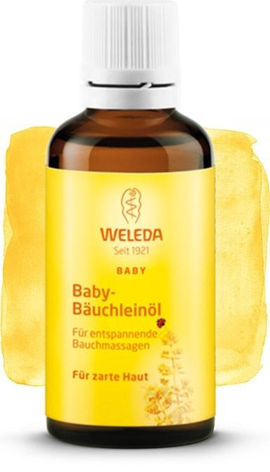 Ulei calmant colici pentru burtica bebelusului - Weleda