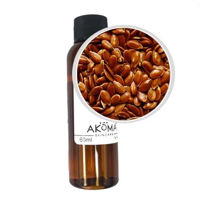 Ulei de in presat la rece, certificat organic, 60 ml - Akoma Skincare