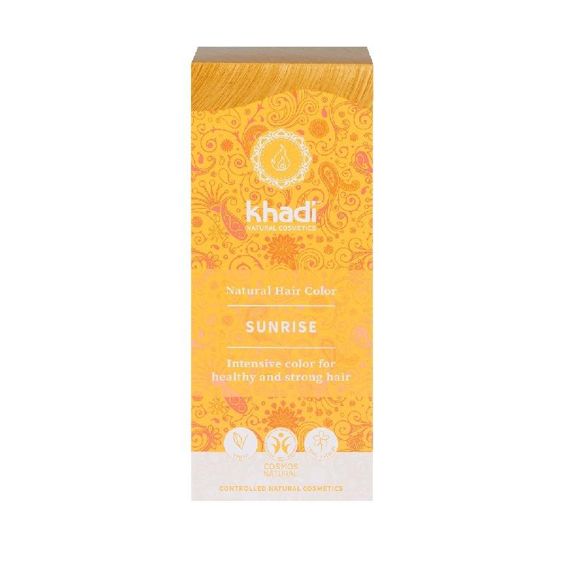 Vopsea de par naturala Blond Sunrise - Khadi